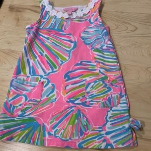 GIRLS LITTLE LILLY PULITZER CLASSIC SHIFT DRESS XS